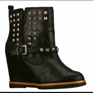 SKCH+3 by Skechers - studded ankle booties